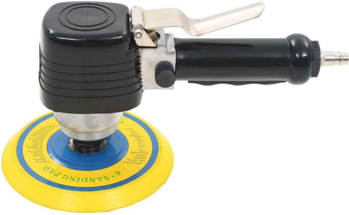 vidaXL Pneumatische vlakschuurmachine met handvat 150 mm kopen