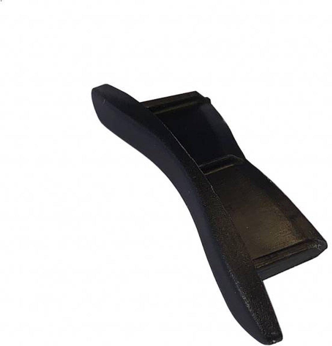 Alutech Kunststof nok AR52 - Zwart kopen