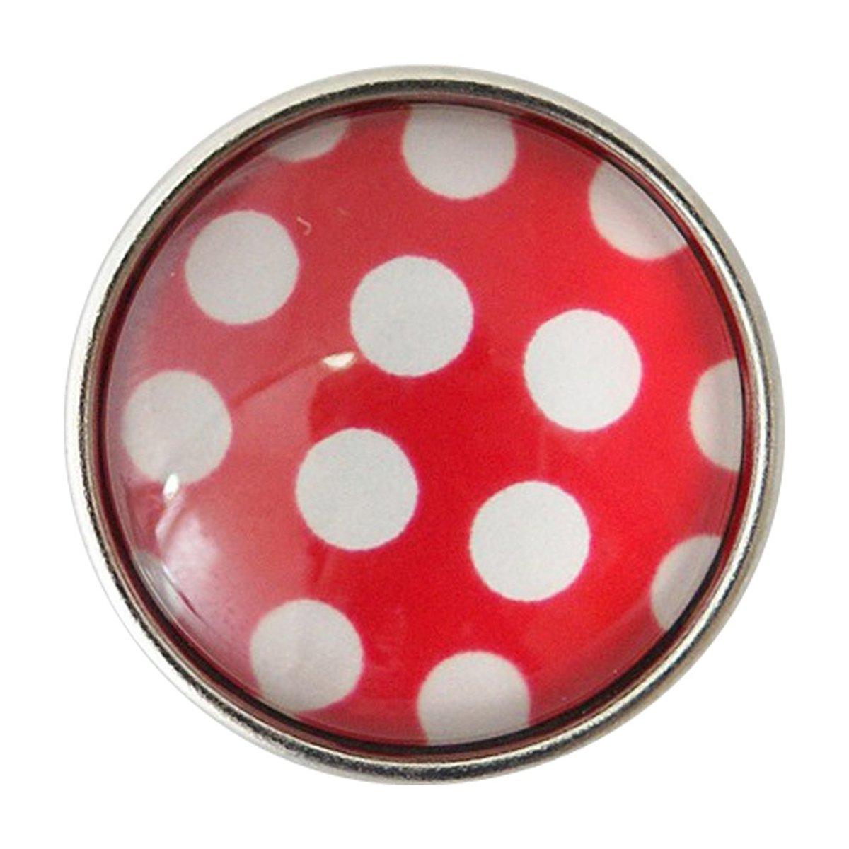 Glazen chunk/ click button Stippen kopen