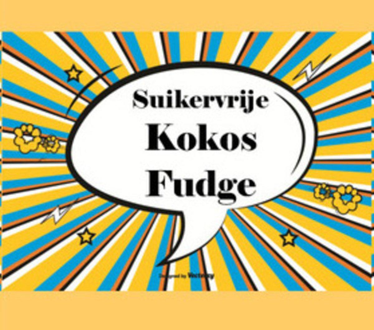 Kokos Karamel Fudge Suikervrij kopen