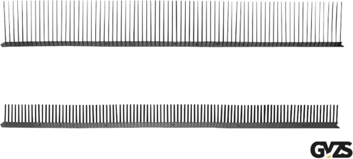 Ubbink Dakvoet vogelschroot kunststof zwart 55mm x 1 meter kopen