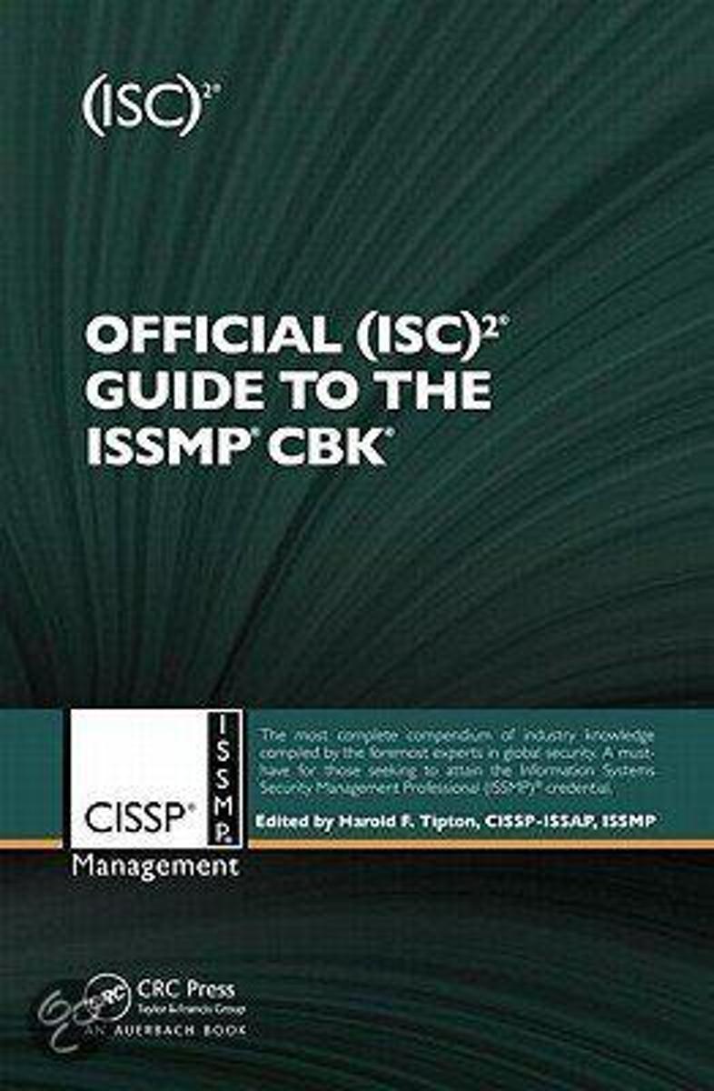 bol.com | Official (ISC)2 Guide to the ISSMP CBK (ebook), Joseph Steinberg  | 9781136586729 | Boeken
