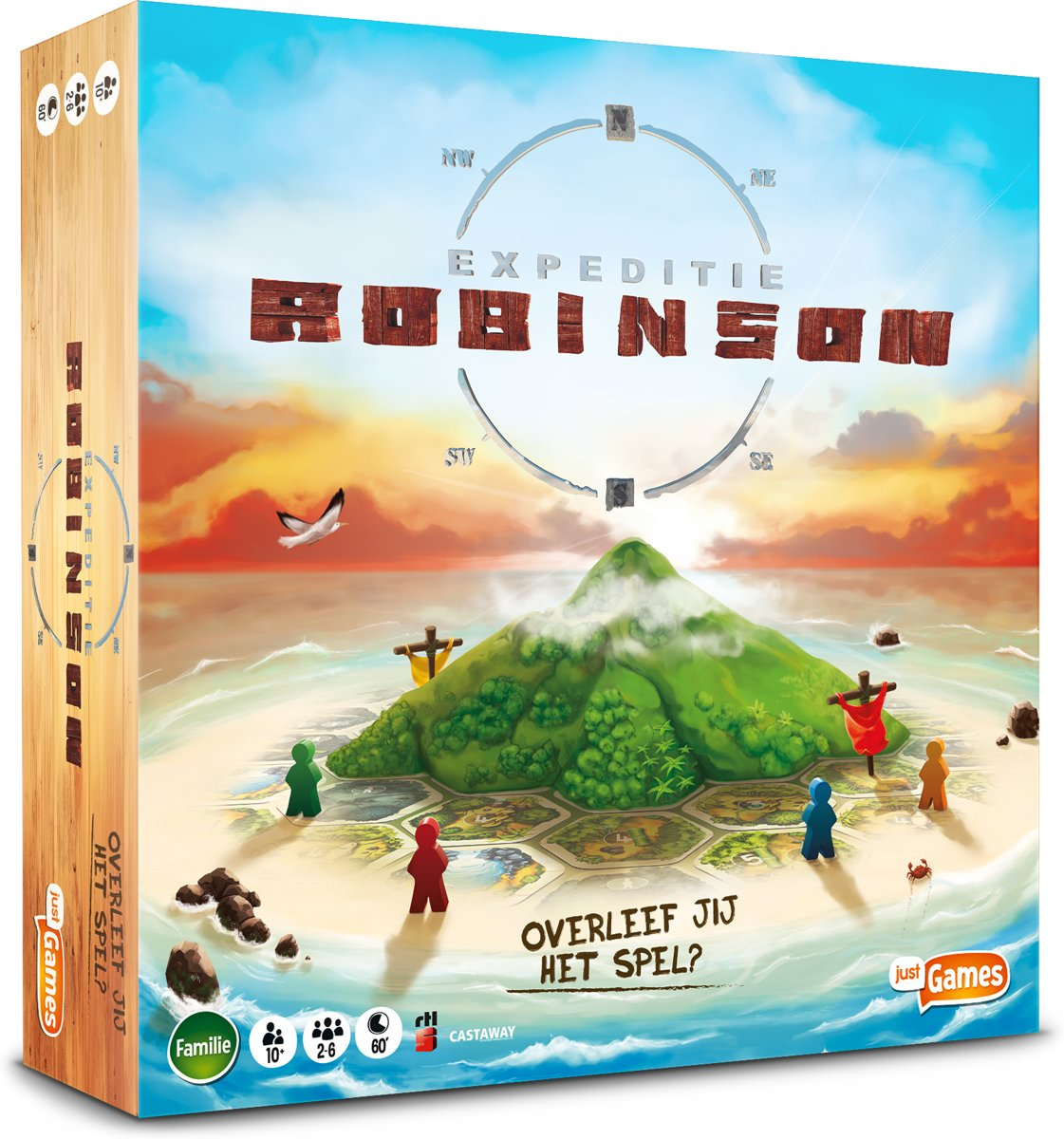 Expeditie Robinson - Bordspel