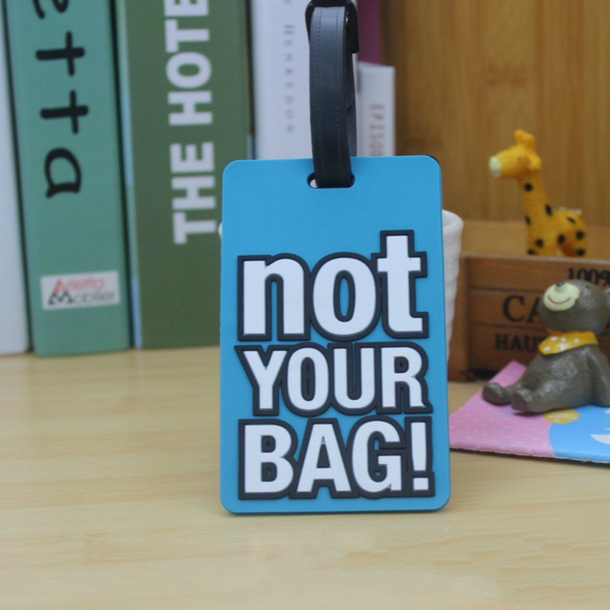 Kofferlabel – Bagagelabel – Adreslabel - Naamlabel - 1 stuk  - Siliconen – Reislabel Voor Koffers – Tassen - Backpacks kopen