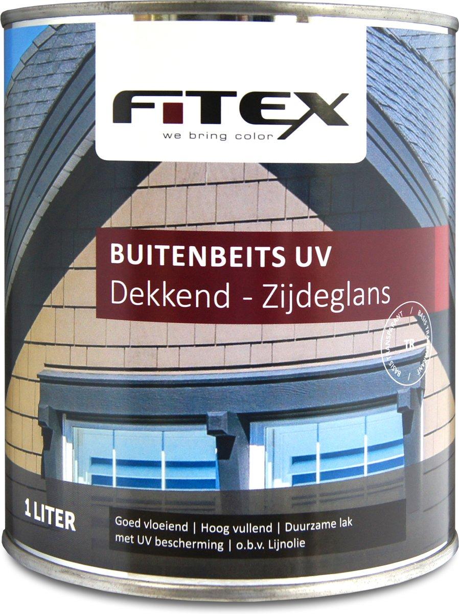 Fitex-Buitenbeits UV-Zijdeglans-Ral 7016 Antracietgrijs-1 liter