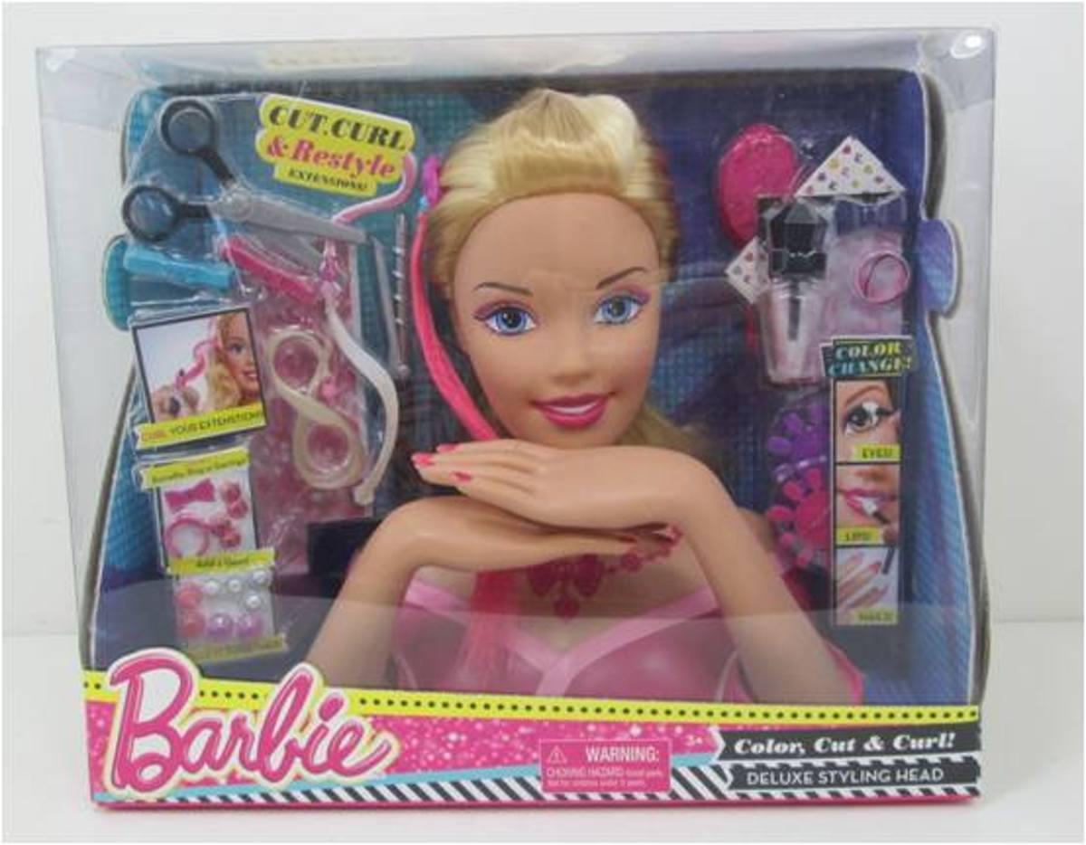 Barbie Deluxe Kaphoofd - Blond