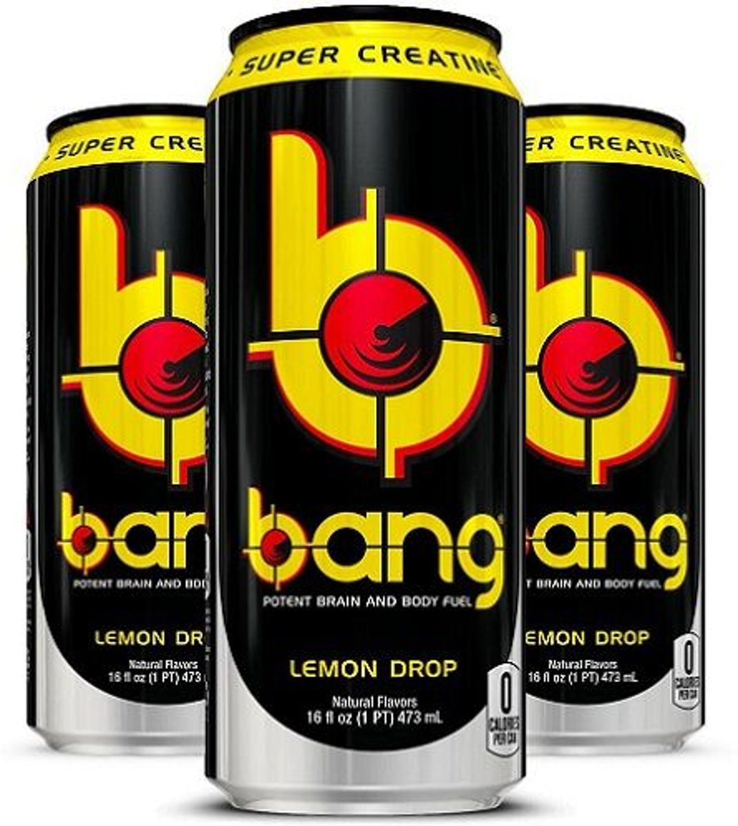 VPX Sports Bang Energy Drink -Lemon Drop-12 stuks kopen
