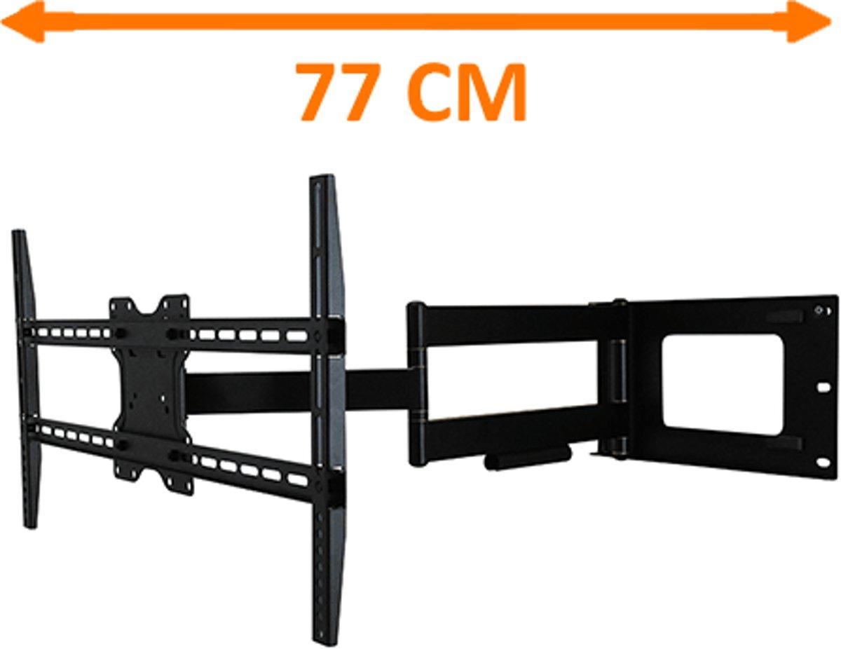 DQ Wall-Support DQ Hercules Fixed 800 Black TV Beugel kopen