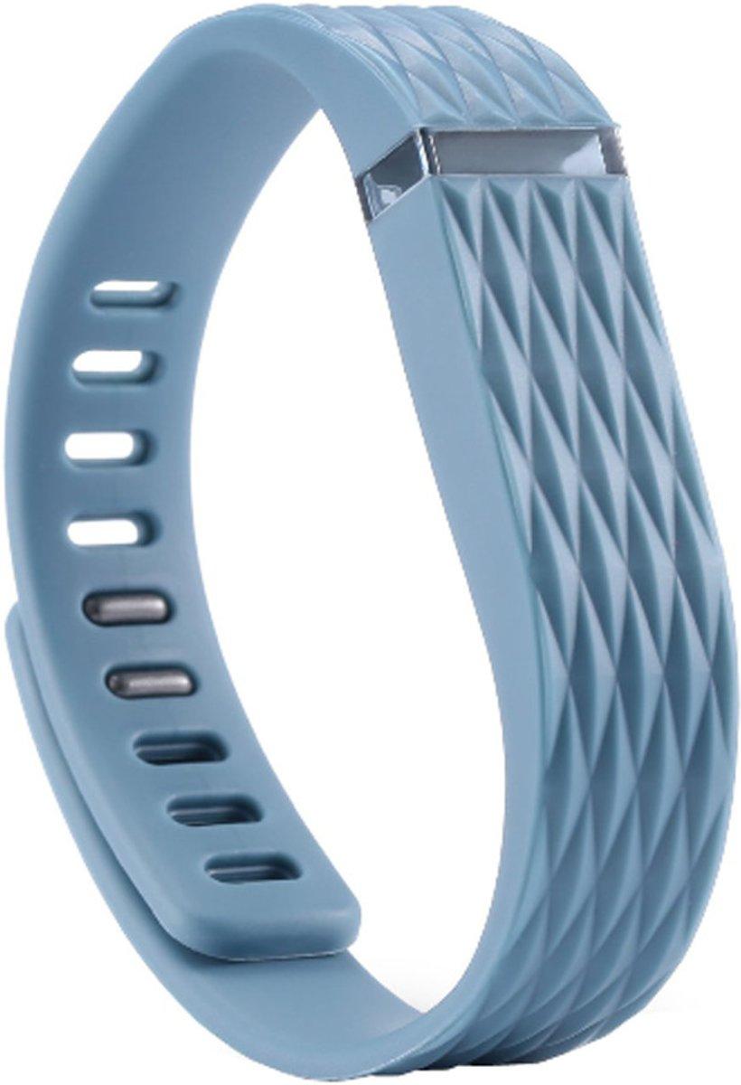 Matrix Line - TPU armband voor Fitbit Flex - Kleur - Indigo, Maat - L kopen