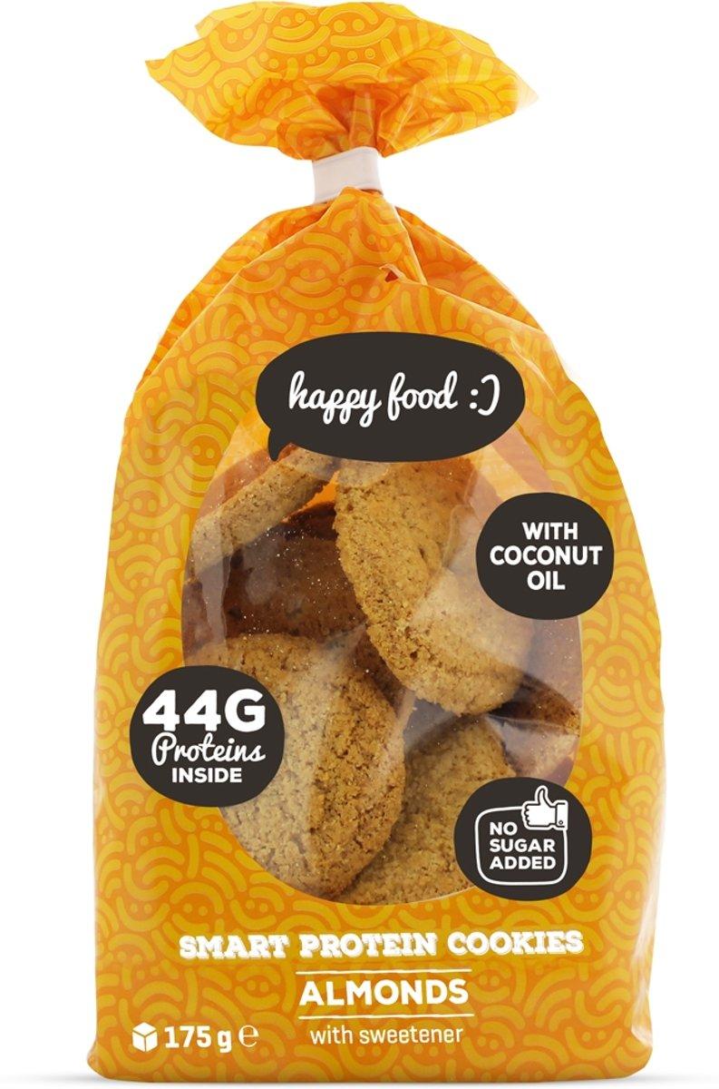Body & Fit Smart Protein Cookies - Suikerarme eiwitkoekjes - 1 pak (21 cookies) - Almonds kopen