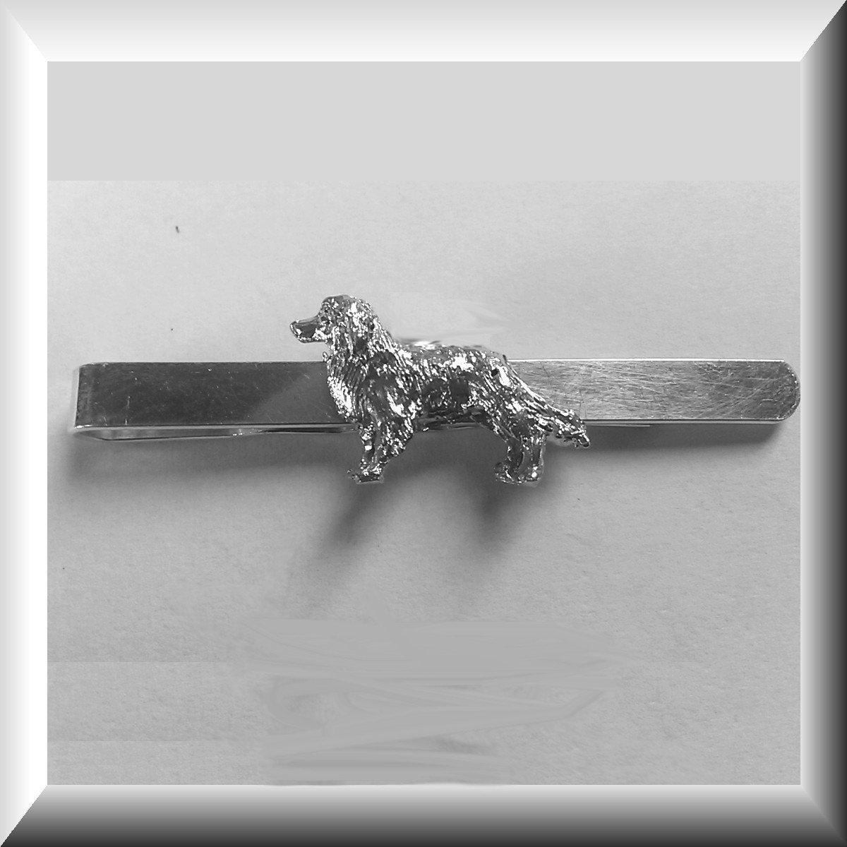 Zilveren Dasschuif met Border Collie kopen