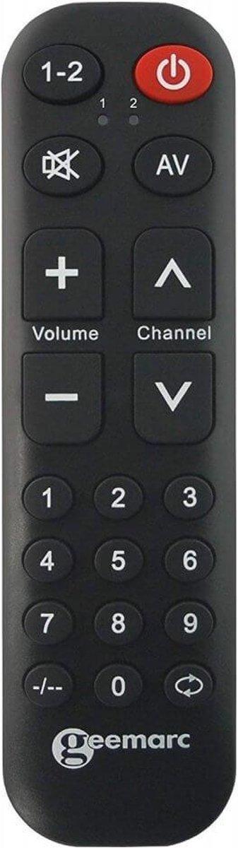 Universele afstandsbediening | Geemarc TV-10 kopen