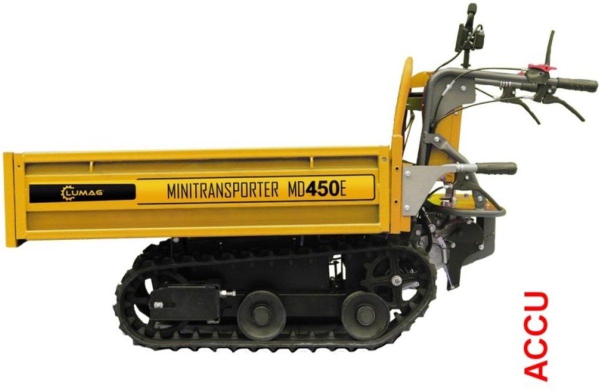 Lumag Accu rupsdumper MD450E | Rupsdumper | Rupskruiwagen kopen
