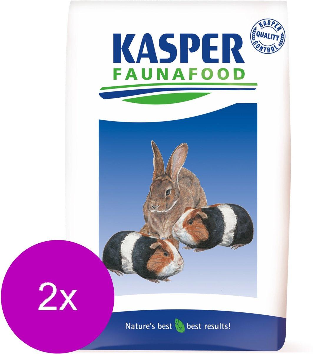 Kasper Faunafood Konijnenkorrel Sport - Konijnenvoer - 2 x 20 kg
