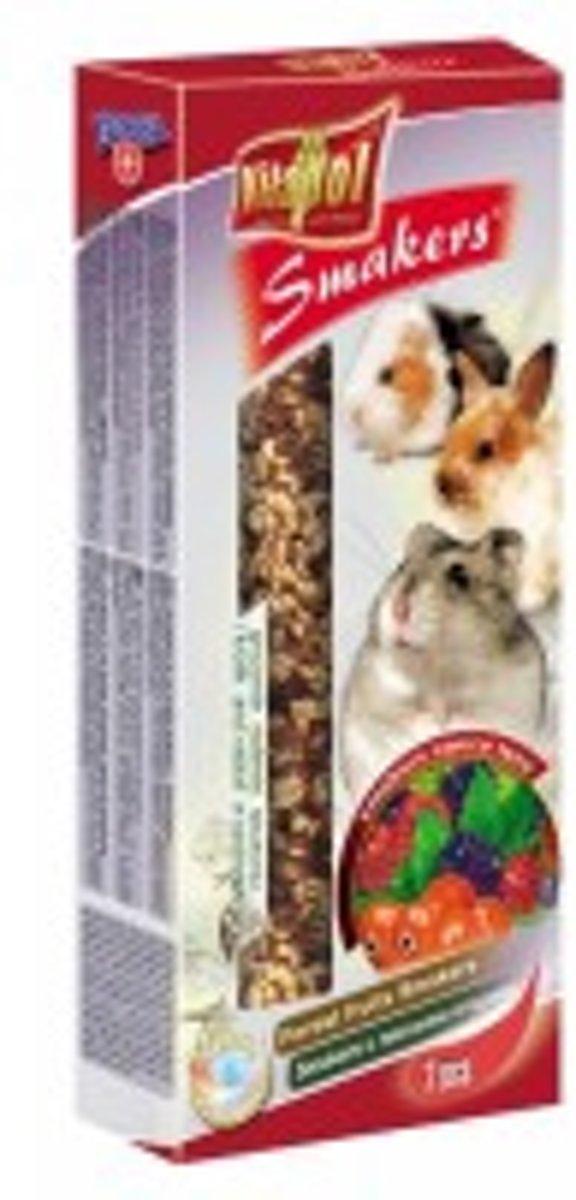 Vitapol knaagdierkracker bosvruchten 10 x 2 stuks