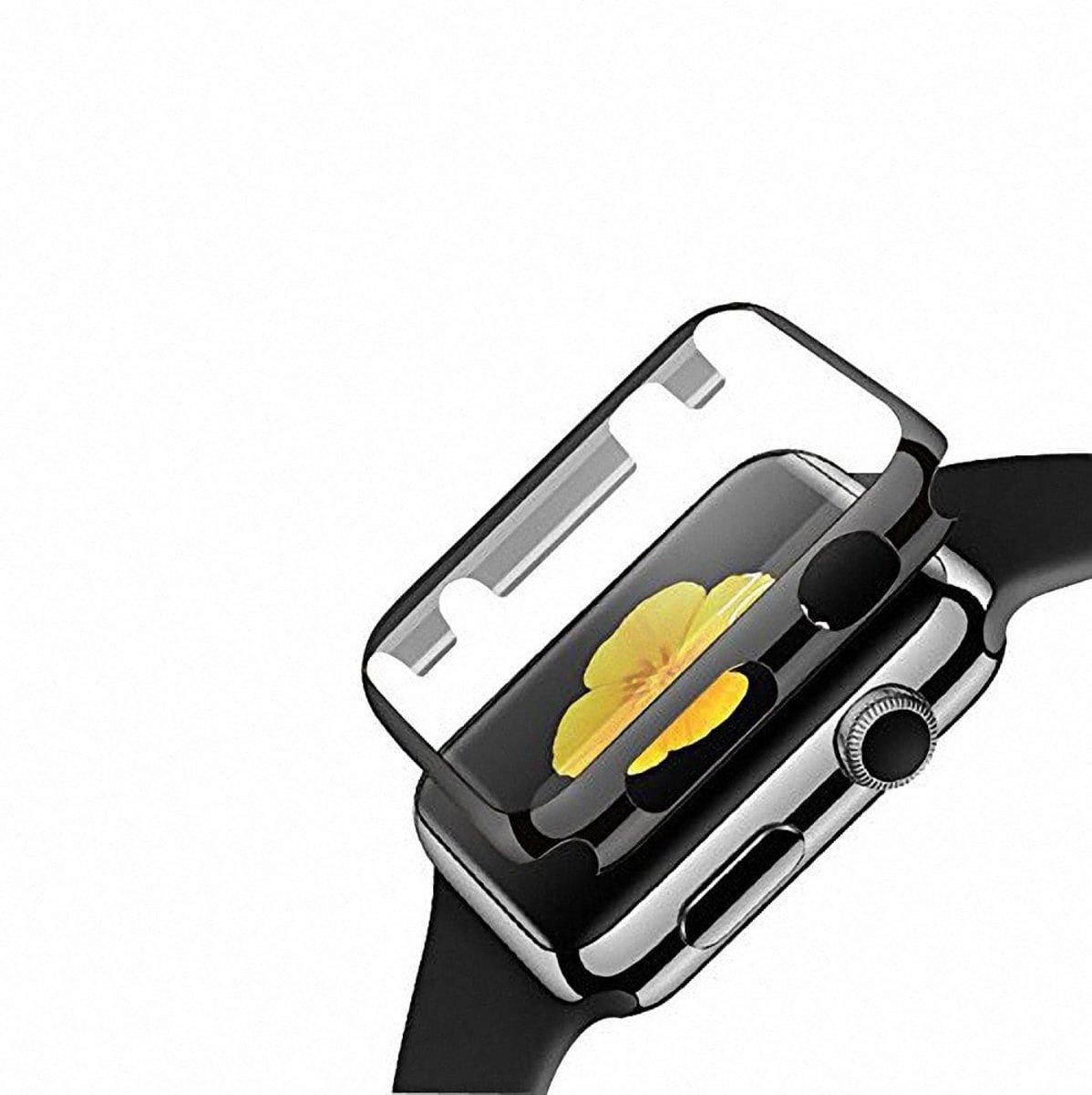 42mm Case Cover Screen Protector zwart 4H Protected Knocks Watch Cases voor Apple watch voor iwatch 2 | Watchbands-shop.nl kopen