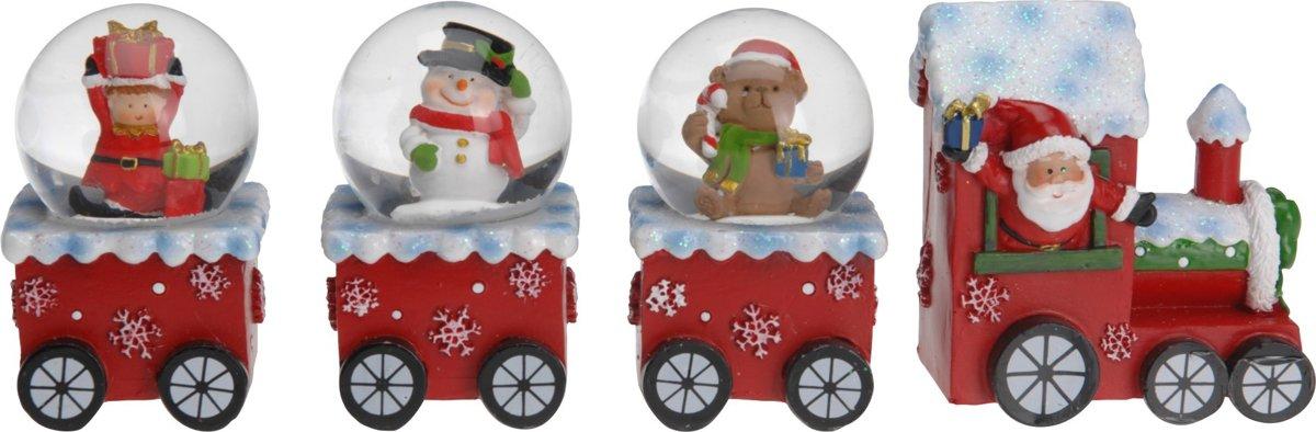 Waterbal - Sneeuwbol - Schuddebol - Kersttrein met waterballen kopen