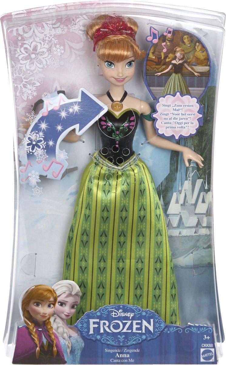 Disney Frozen zingende Anna - Barbiepop