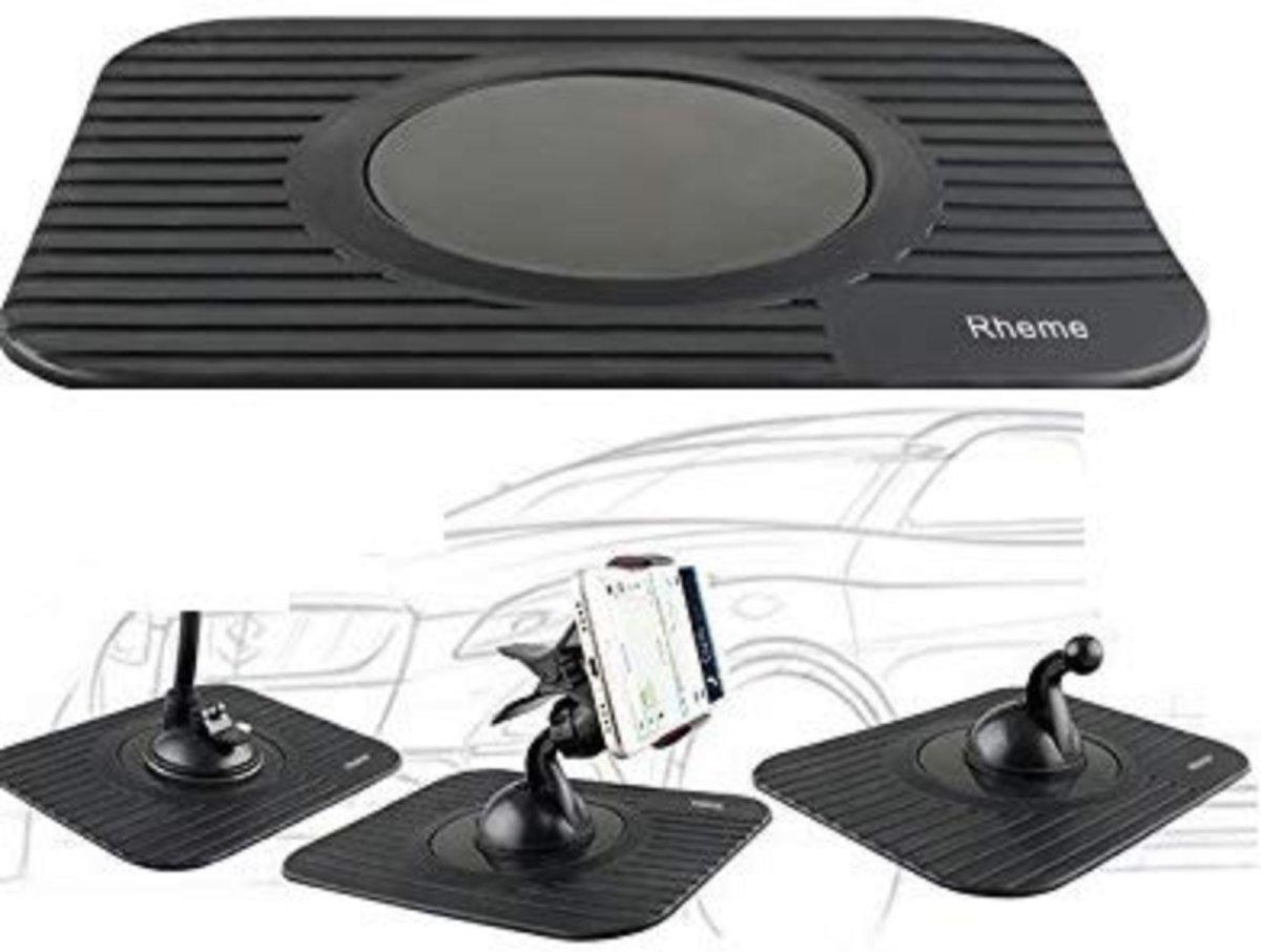 Auto Onderlegger voor Navigatie Tomtom Garmin , Telefoon iPhone Samsung Huawei HTC - Rubber Dashboard - Niet Plakkend - Draagbare - Ultra dun -/ Rheme kopen