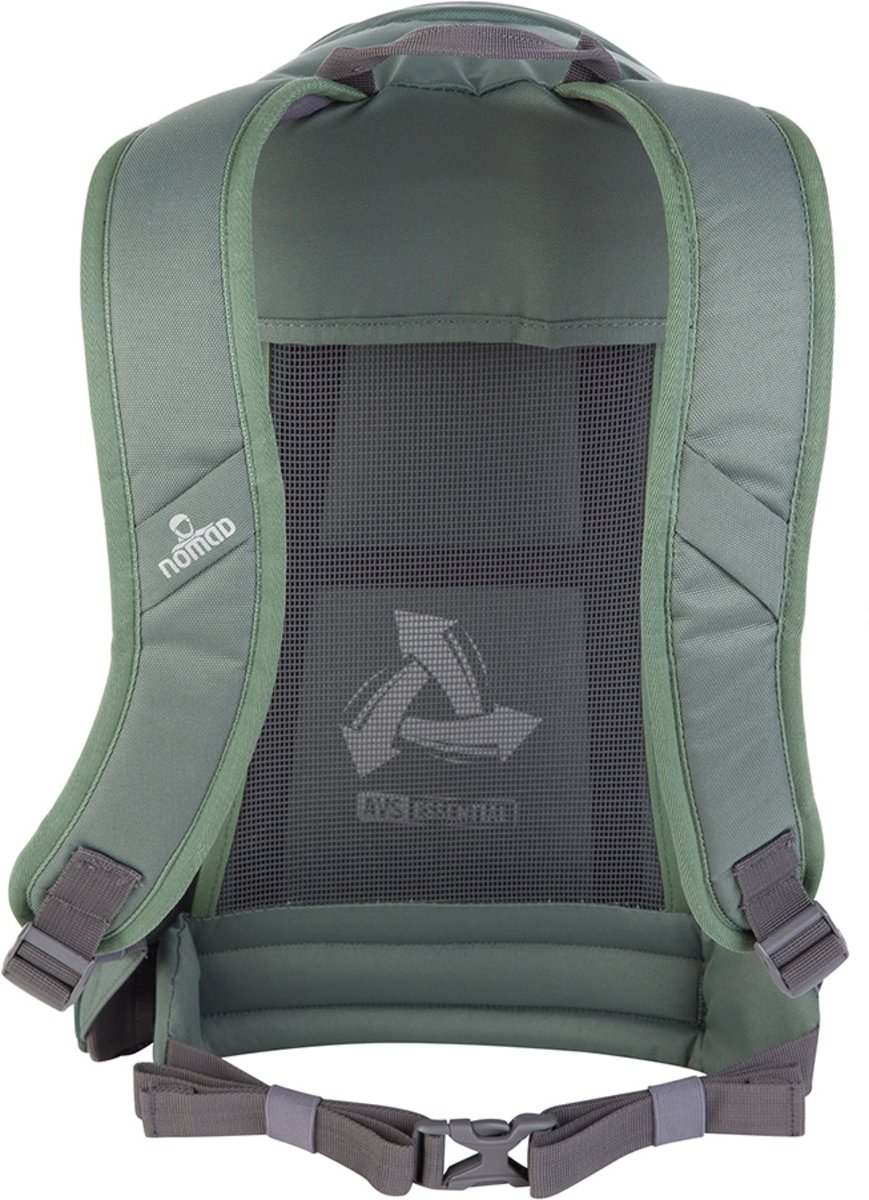 e07e2609f48 bol.com | Nomad Quartz 20 A-4 Size Rugzak - 20L - Verde