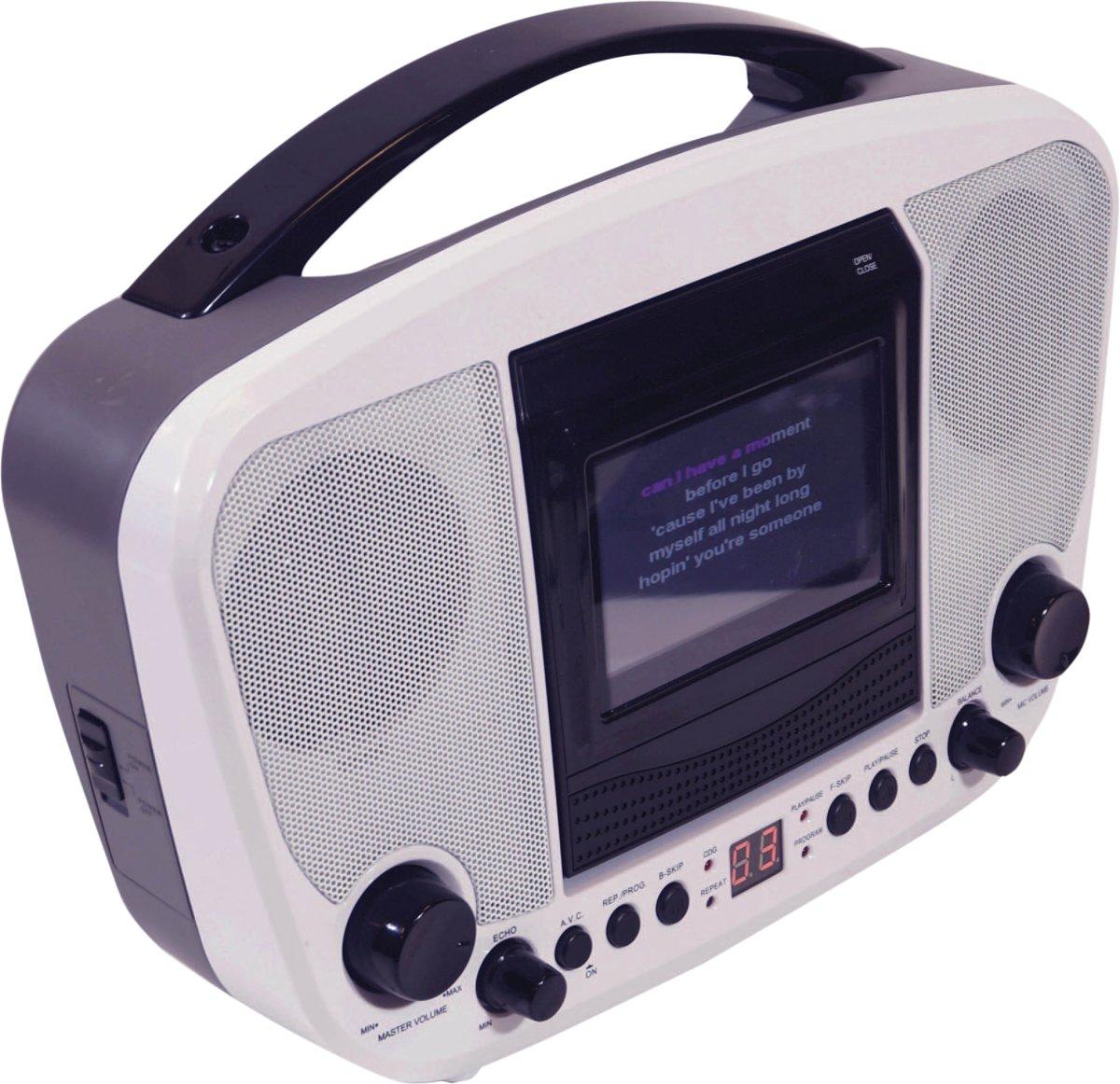 Mr Entertainer KAR122D Bluetooth CDG karaoke machine