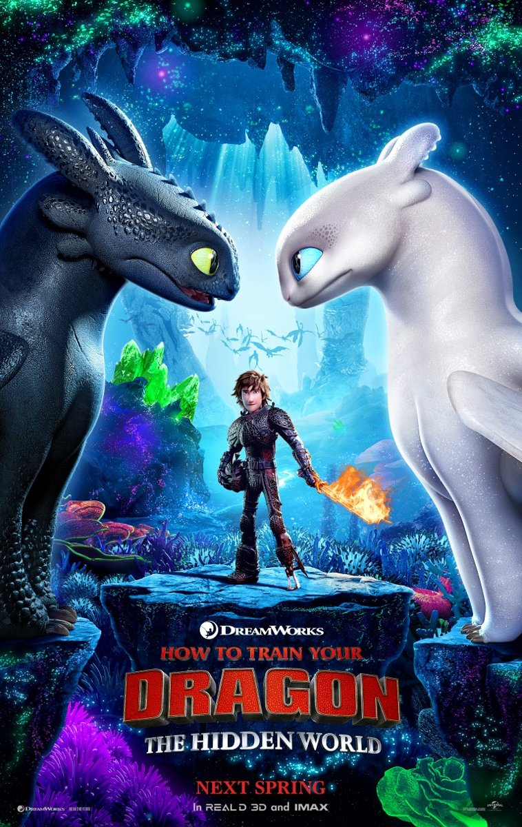 Poster- How to train your Dragon -The Hidden World - nr.2 - filmposter kopen
