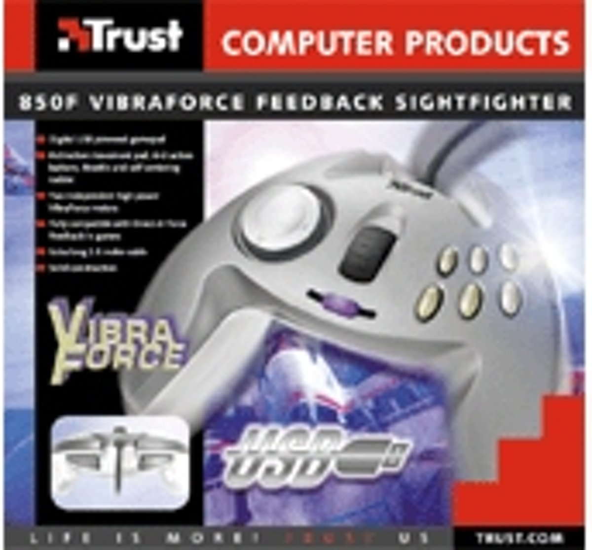TRUST Gamepad VIBRAFORCE FEEDBACK SIGHT FIGHTER Driver Download