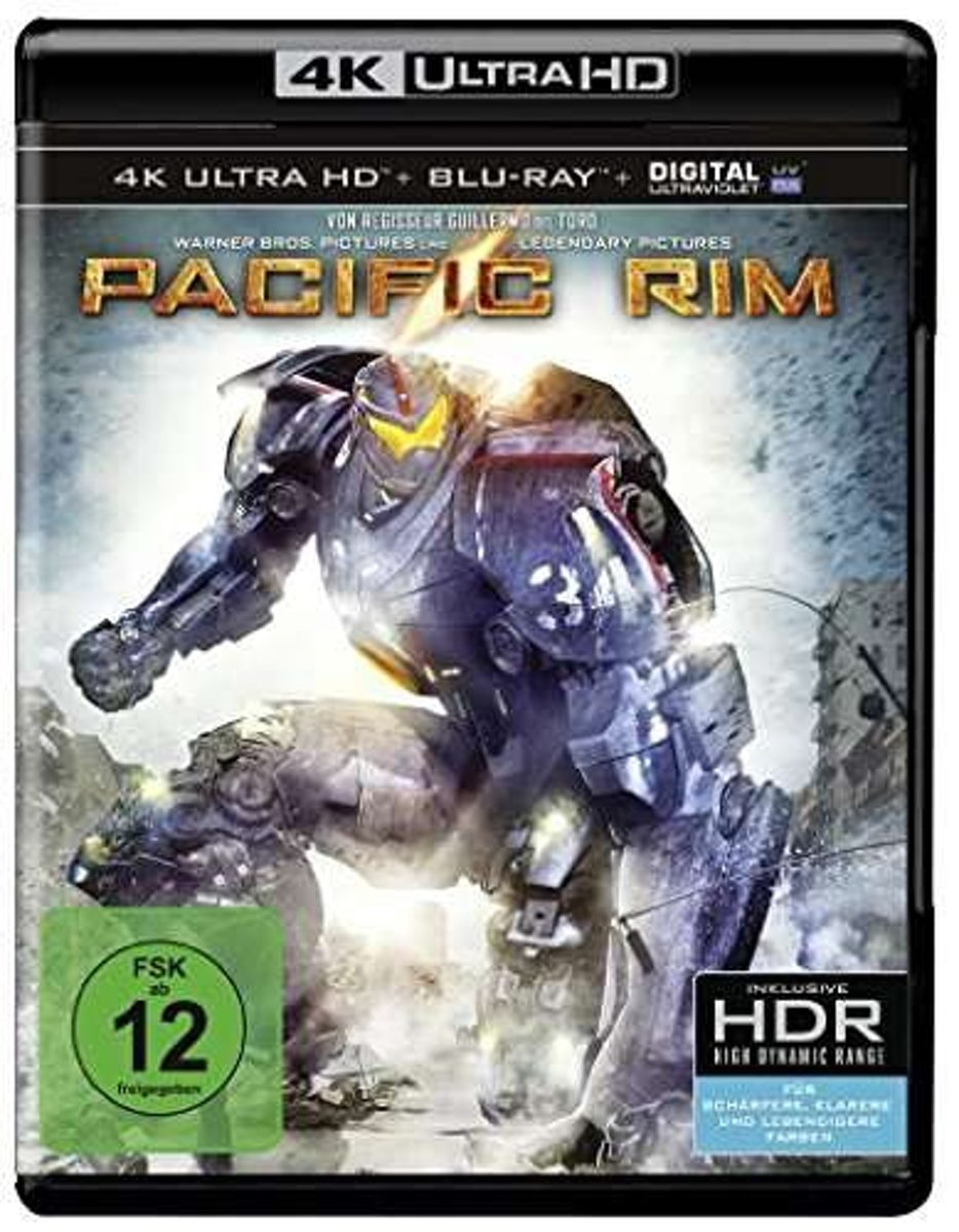 Pacific Rim (Ultra HD Blu-ray & Blu-ray)-
