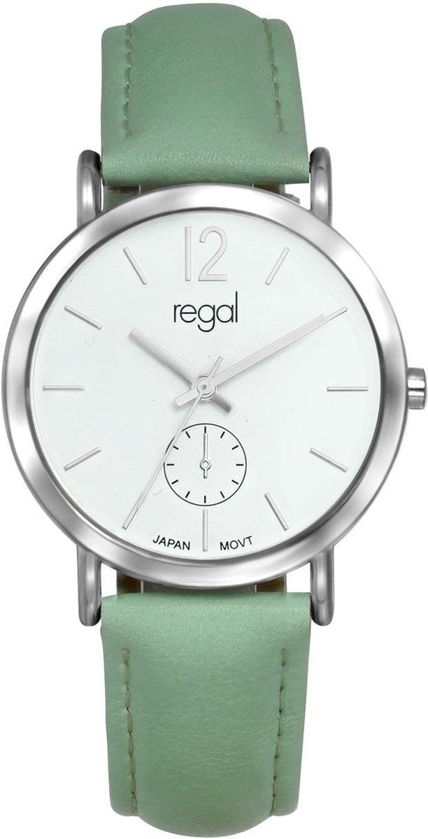 Regal - Regal horloge met een mintgroene band kopen