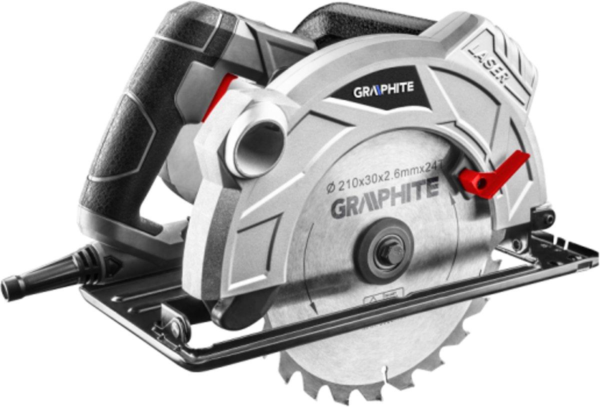 HAND CIRKELZAAG MACHINE 1800 Watt - GRAPHITE
