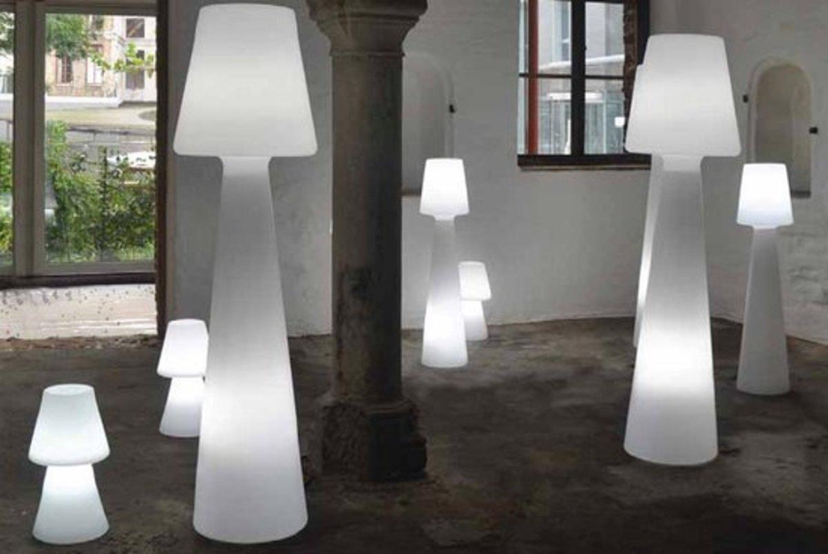 Bol newgarden lola cm buitenverlichting staande lamp wit