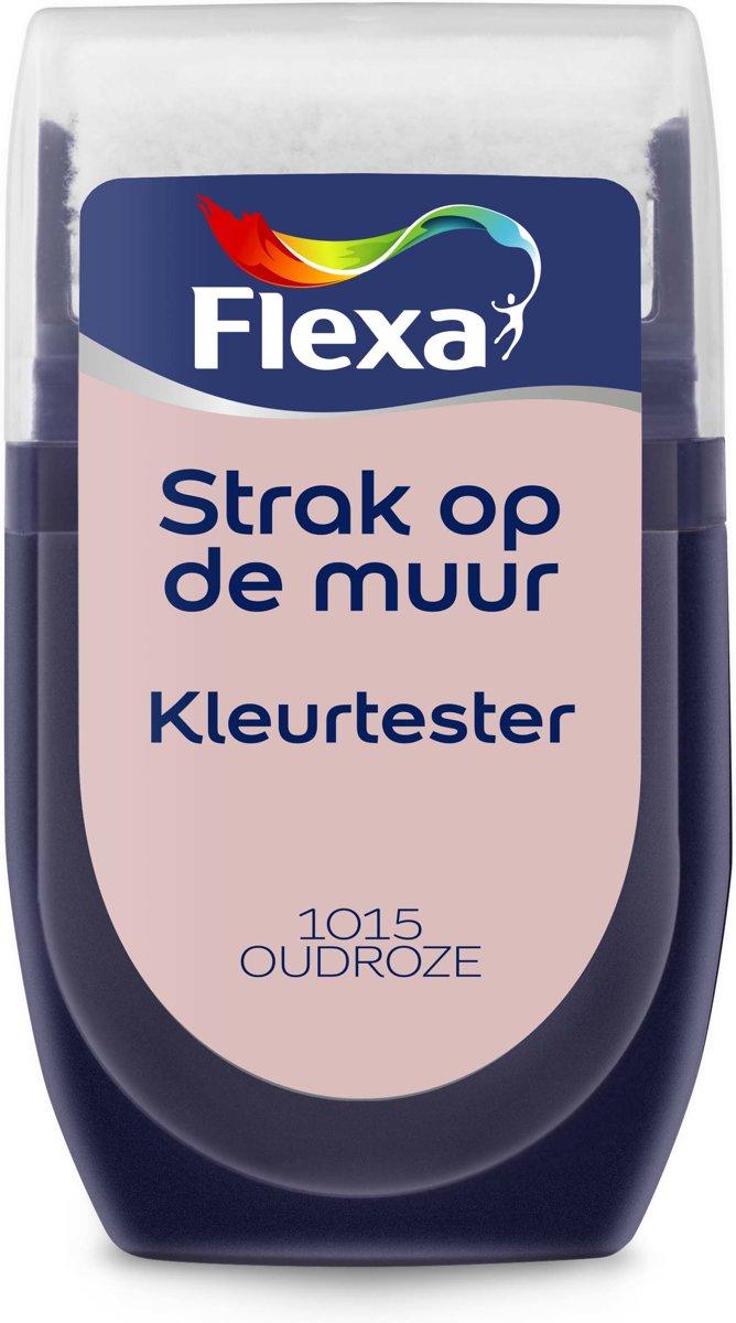 Flexa Strak op de Muur Muurverf Tester 1015 Oudroze 30 ML kopen