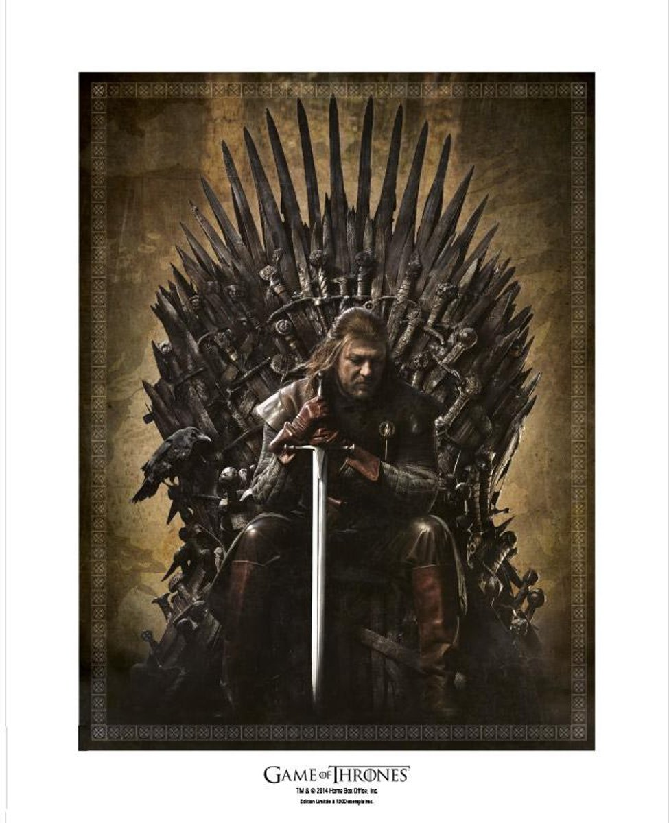 Game Of Thrones - Collector Artprint Throne (50X40)