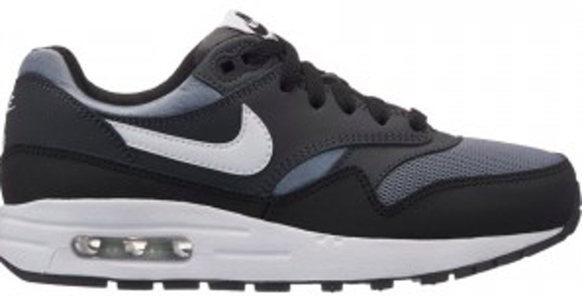 sports shoes 8917b 336e6 Top Honderd | Nike Air Max 1 - Sneakers - Zwart/Antraciet/Grijs/Wit ...