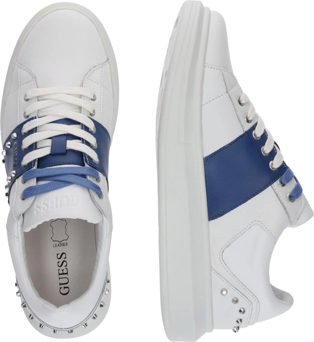 Guess sneakers laag kean Blauw 42