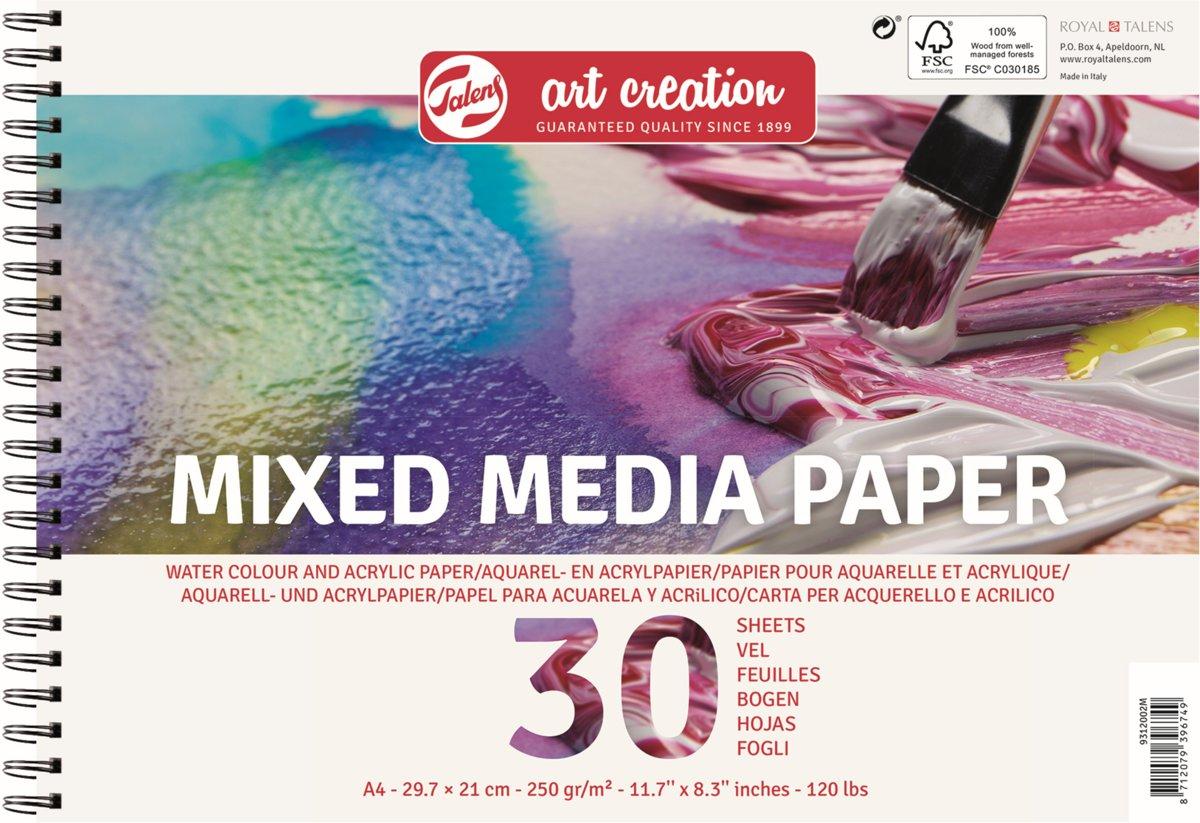 Talens Art Creation mixed media papier - wit - FSC mix kopen