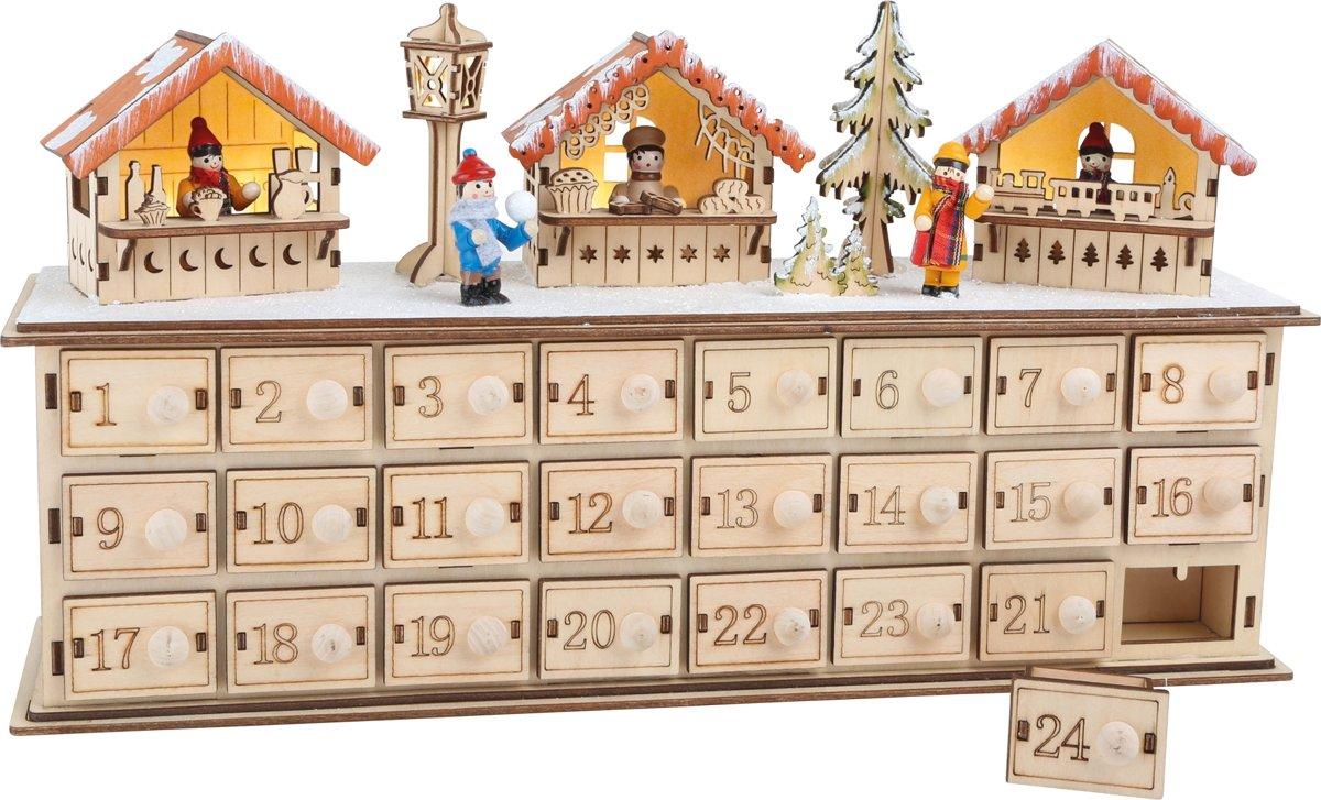 Kerstmarkt Advent kalender kopen