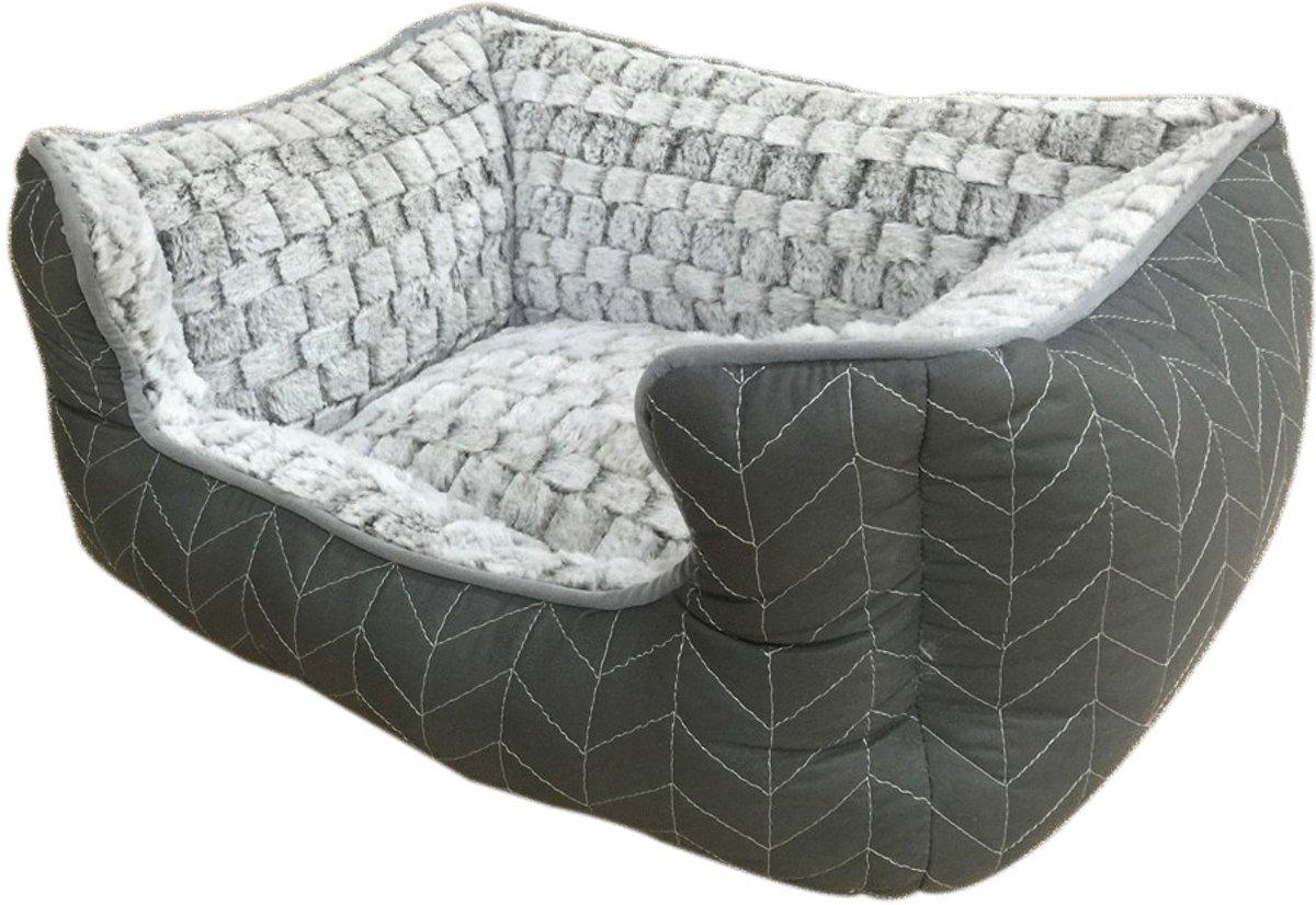 Adori Mand Knitted 47x38x23 cm Grijs