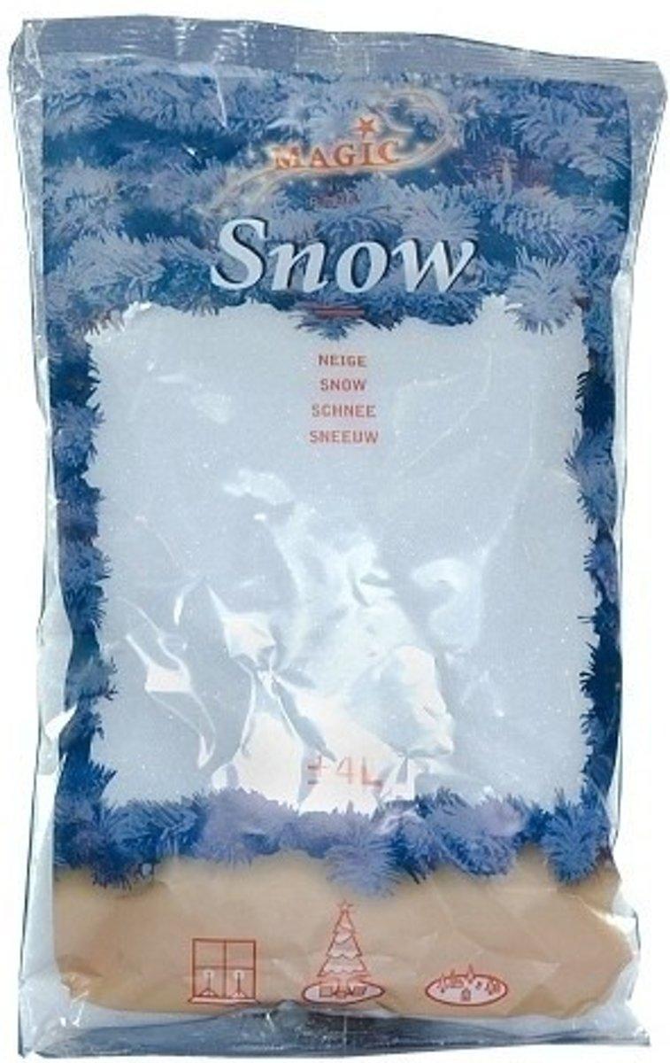 15x zakken Kunstsneeuw  van 4 liter per stuk kopen