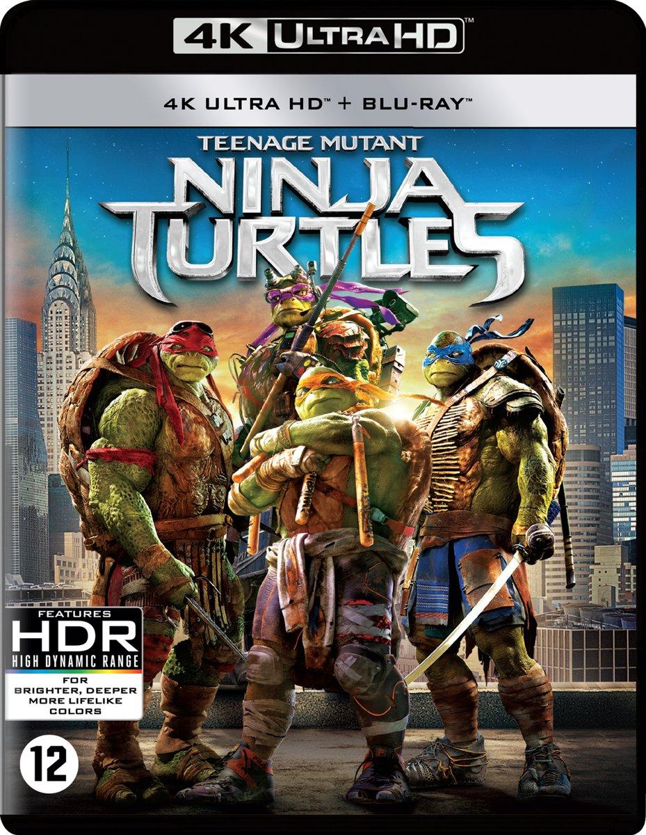 Teenage Mutant Ninja Turtles (2014) (4K Ultra HD Blu-ray)-