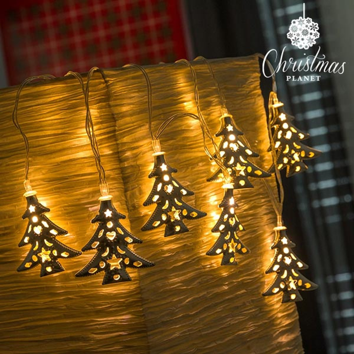 Kerstboom LED Slinger - Met warm licht, 10 Led lampen kopen