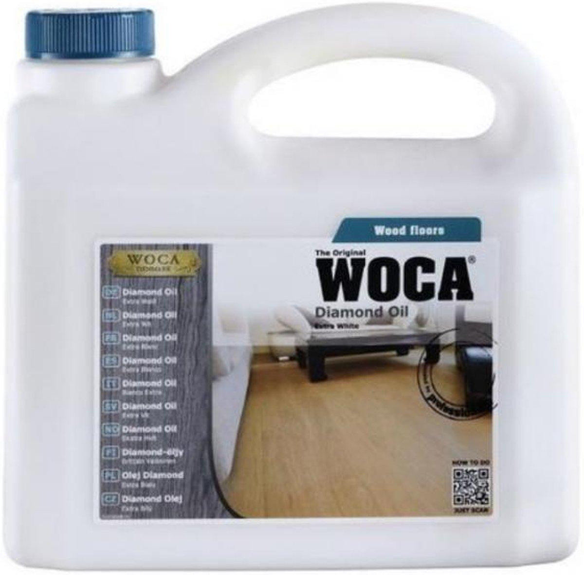 Woca Diamond Olie Extra Wit 13% - 1 liter kopen