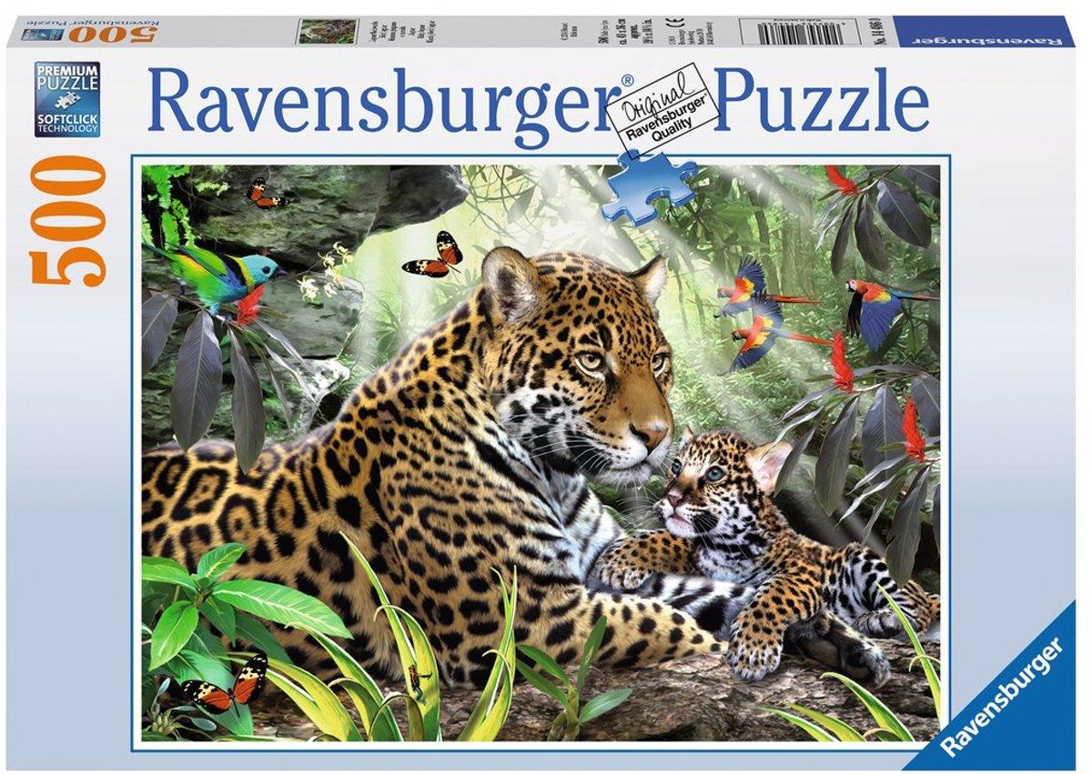 Ravensburger puzzel Jaguar - Legpuzzel - 500 stukjes
