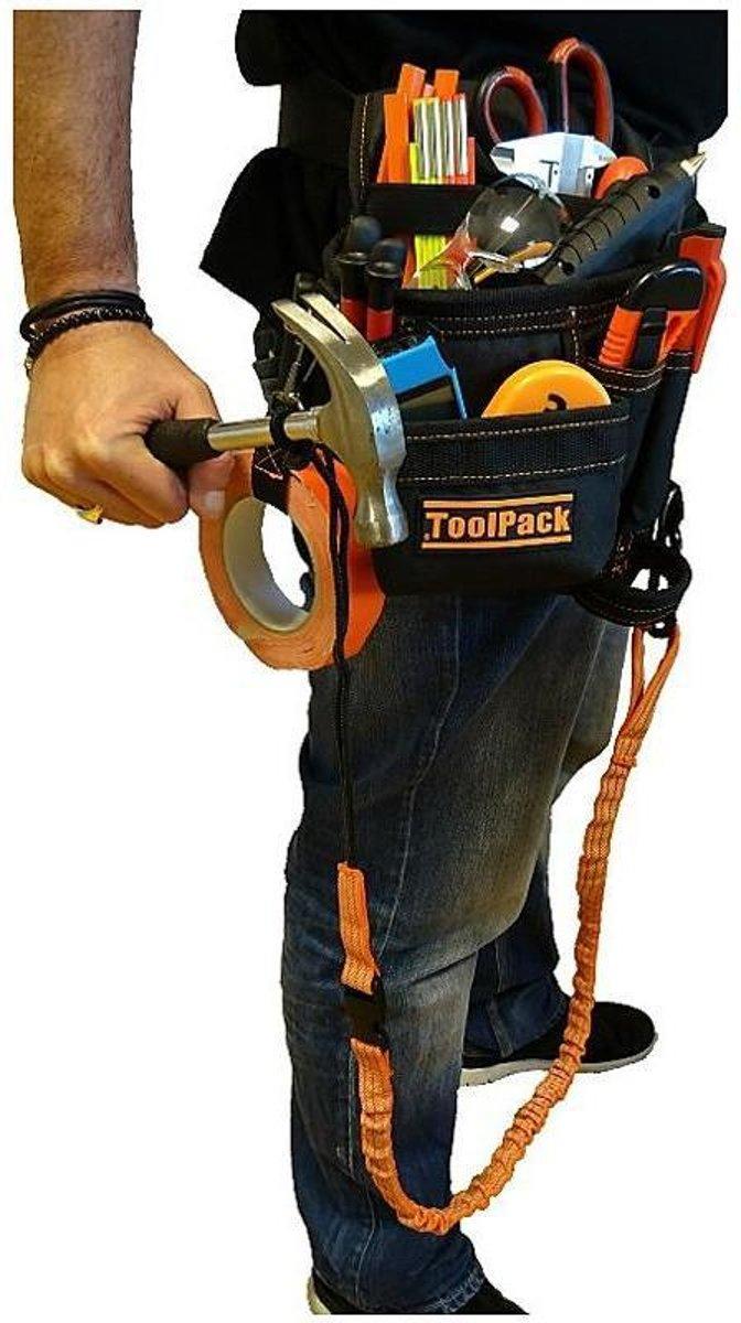 ToolPack Gereedschapsgordel met elastische veiligheidslijn kopen
