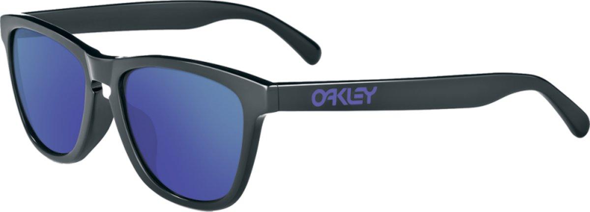 Oakley Frogskins Dark Grey Violet Iridium kopen