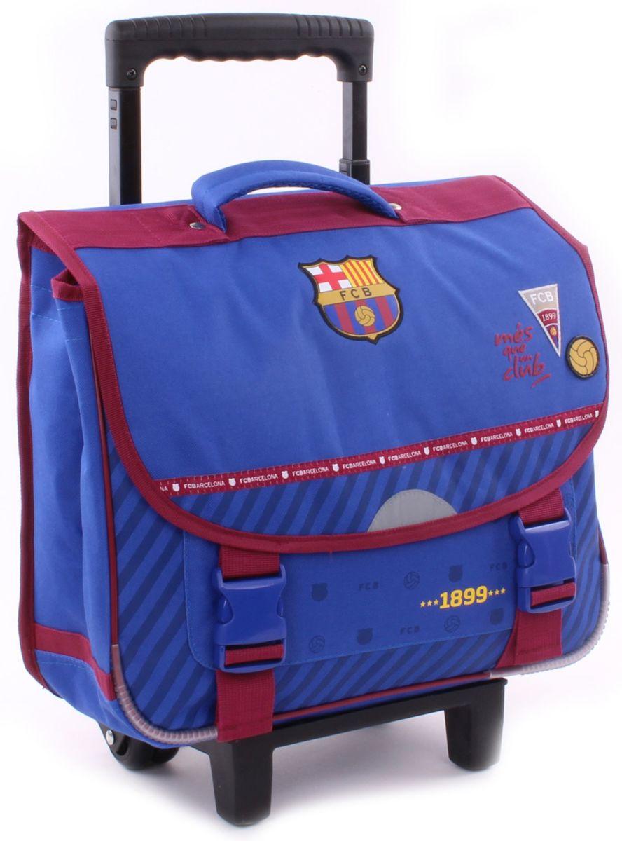 FC Barcelona We Are Trolley Boekentas Unisex - Blauw - Boekentas 38cm kopen