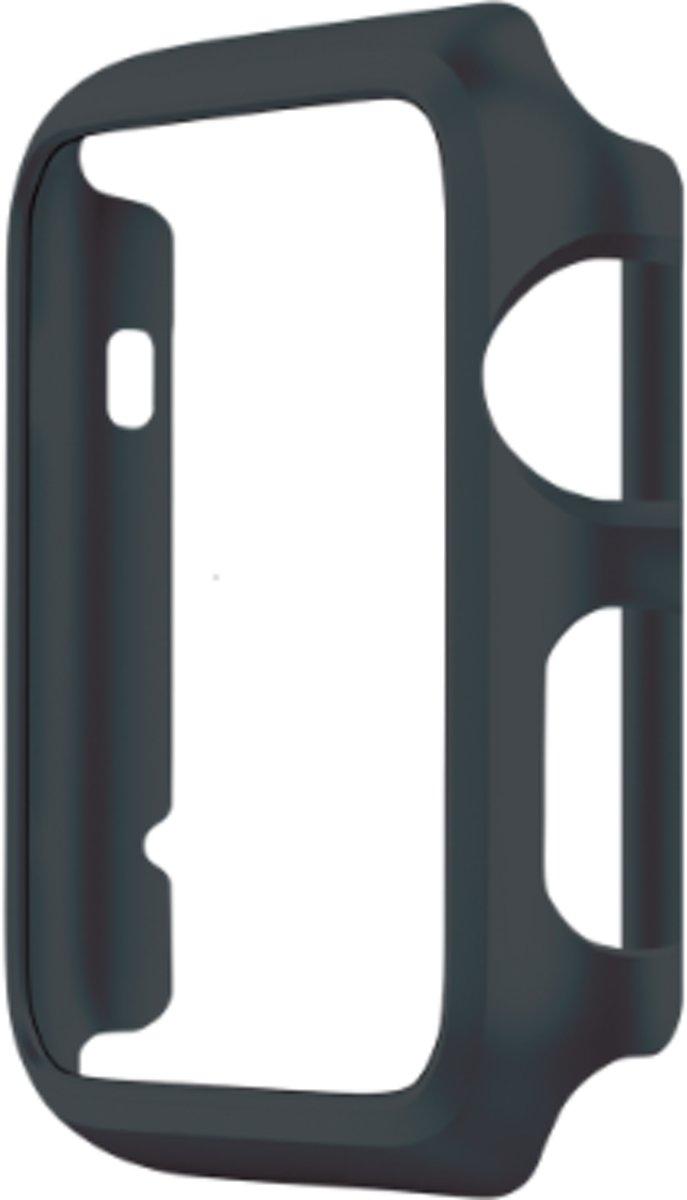 Case Cover PC voor Apple Watch Series 1 / 2 / 3 (42mm) - Zwart kopen