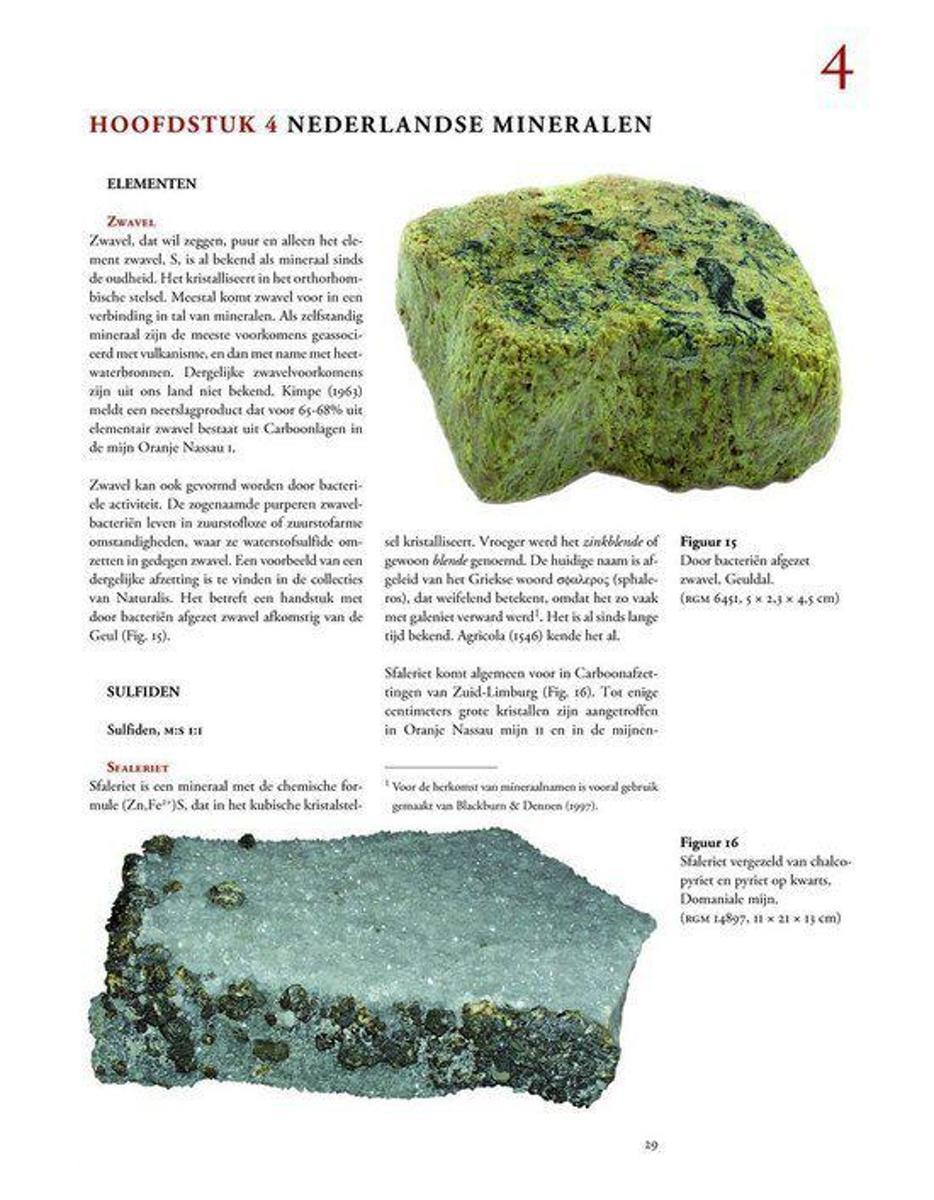 wat betekent mineralen