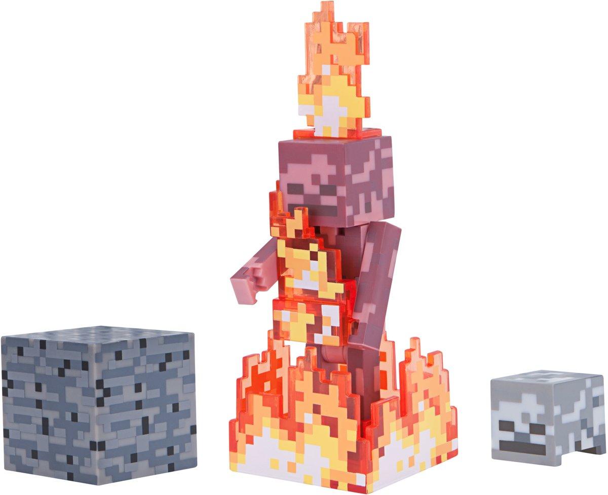 MINECRAFT Skeleton on Fire