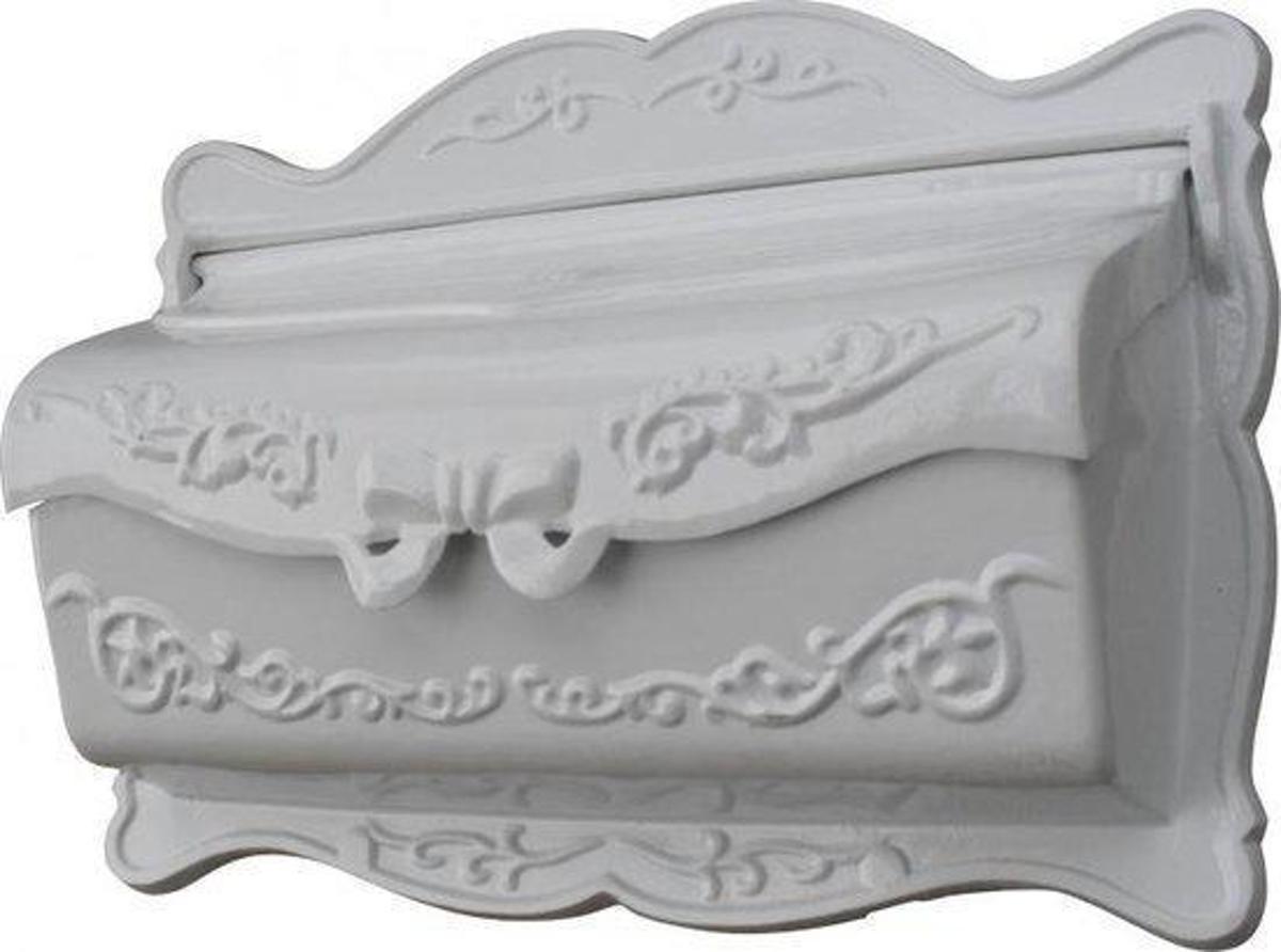 Brievenbus muur wit Sissi